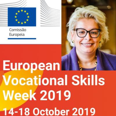 Comissão Europeia Nomeia Dra. Teresa Do Rosário Damásio Como Embaixadora Da Semana Europeia Da Formação Profissional 2019