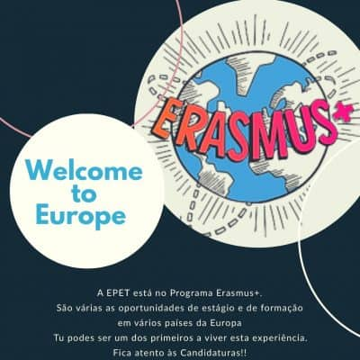 A EPET ESTÁ NO PROGRAMA ERASMUS +