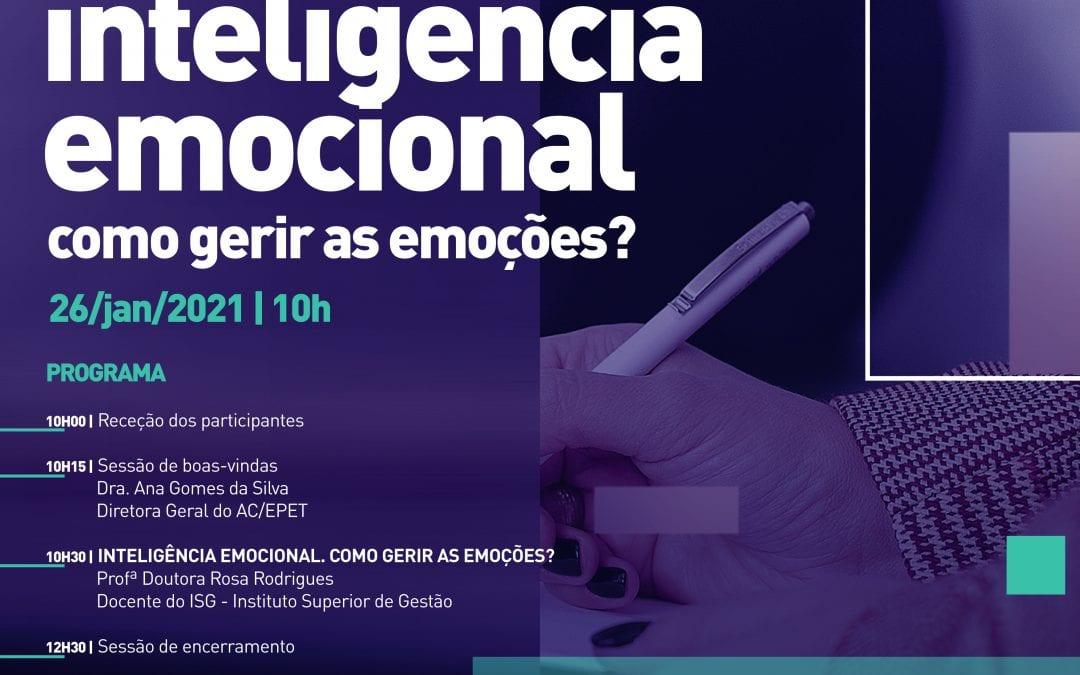 Workshop – Encontro de spo's Inteligência emocional, como gerir as emoções